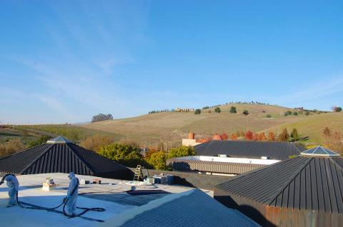 Spray Foam Roofing/Sonoma Winery