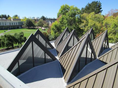 Sonoma State University Spray Foam Roof