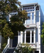 San Francisco Flat Roof Victorian