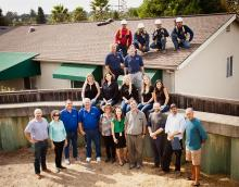 veterans home roof donation