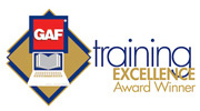 GAF Master Elite Excellence Award Wedge Roofing