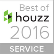 Houzz Best Customer Service Award Wedge Roofing Marin 2016