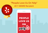 Yelp Award Wedge Roofing reviews